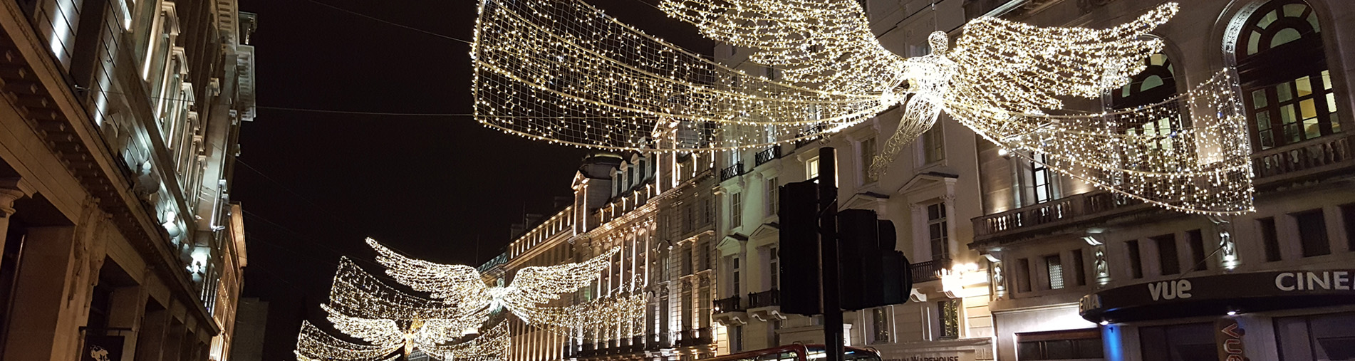 London's Regent Street Christmas Lights